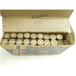 DOMINION 300 SAVAGE AMMO, BRASS