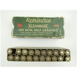 401 WIN SELF LOADING AMMO