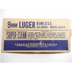 CIL 9MM LUGER AMMO