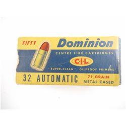DOMINION 32 AUTOMATIC AMMO