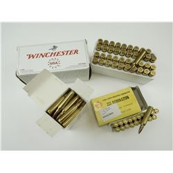 22-250 REM, 223 REM ASSORTED AMMO