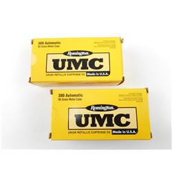 REMINGTON UMC 380 AUTOMATIC AMMO
