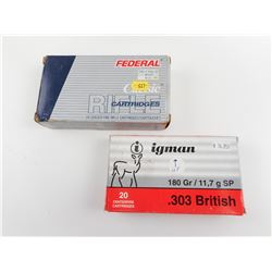 .303 BRITISH AMMO ASSORTED