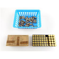 45 AUTO ASSORTED AMMO, BRASS