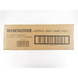 "WINCHESTER SUPER-X 12 GA 2 3/4"" SHOTSHELLS"