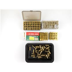 44 REM MAG RELOADED AMMO, BRASS