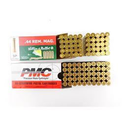 44 REM MAG RELOADED AMMO