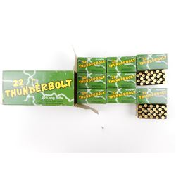 REMINGTON 22 LONG RIFLE THUNDERBOLT AMMO