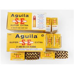 AGUILA SUPER EXTRA 22 LONG RIFLE AMMO
