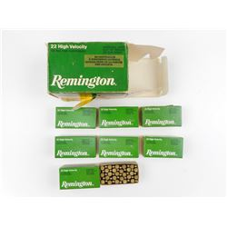 REMINGTON HIGH VELOCITY 22 SHORT AMMO