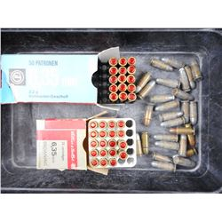.25 ACP ASSORTED AMMO