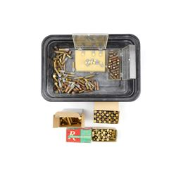 22 ASSORTED AMMO, BLANKS
