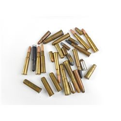 LONG RIFLE AND PISTOL AMMO, BLANKS ASSORTED