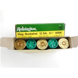 "REMINGTON 12 GAUGE 3 1/2"" BUCKSHOT"