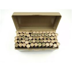 7.62 X 54R AMMO, IN PLASTIC CASE-GARD BOX