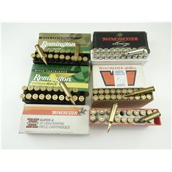 22-250 ASSORTED AMMO