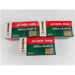 SELLIER & BELLOT .44 REM. MAG. AMMO