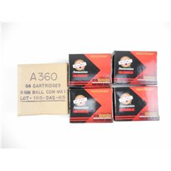 9MM BALL, 9MM LUGER AMMO