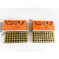 WOLF 44 MAG FACTORY RELOADED AMMO