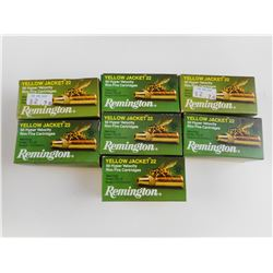 REMINGTON YELLOW JACKET 22 RIM FIRE AMMO