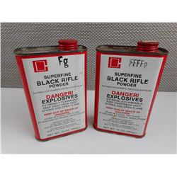 SUPERFINE BLACK RIFLE POWDER FFFFG, FG