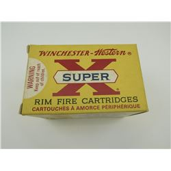 WINCHESTER WESTERN SUPER-X 22 LONG RIFLE AMMO