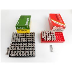 38 SPECIAL SEMI-WADCUTTER ASSORTED AMMO