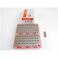 WINCHESTER 38 SPECIAL + P AMMO