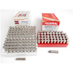 38 SPECIAL + P ASSORTED AMMO