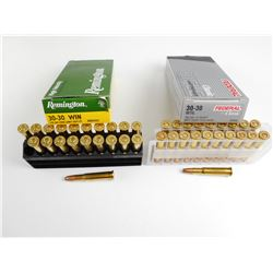 30-30 WIN AMMO, FEDERAL AND REMINGTON