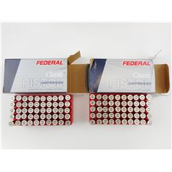 FEDERAL 38 SPECIAL + P AMMO