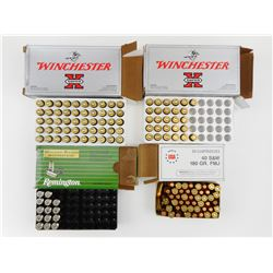 40 S & W ASSORTED AMMO