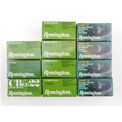 REMINGTON 22 LONG RIFLE AMMO ASSORTED