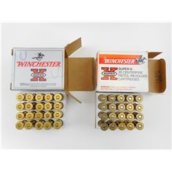 44 SMITH & WESSON ASSORTED AMMO