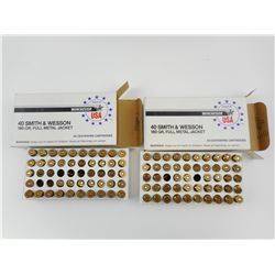 WINCHESTER 40 SMITH & WESSON AMMO