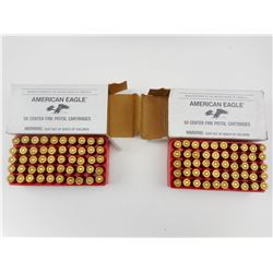 AMERCIAN EAGLE 9MM LUGER AMMO