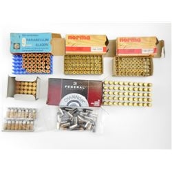 9MM LUGER ASSORTED AMMO, BRASS