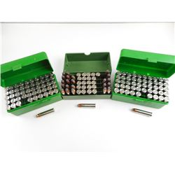 445 SUPER MAGNUM AMMO IN PLASTIC AMMO CASES