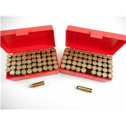 44 REM MAG AMMO IN PLASTIC AMMO CASES