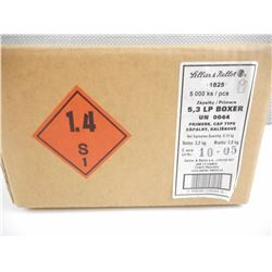 SELLIER & BELLOT 5.3 LP BOXER PRIMERS, CAP TYPE