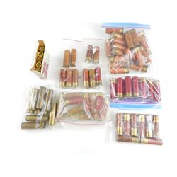 12 GAUGE ASSORTED PAPER SHOTSHELLS, BRASS 12 GA