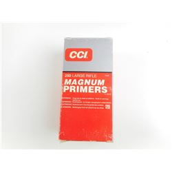 CCI LARGE RIFLE MAGNUM PRIMERS