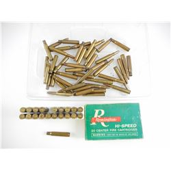 30-06 SPRG RELOADED AND BRASS