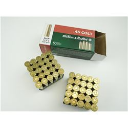 SELLIER & BELLOT .45 COLT AMMO