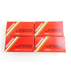 FEDERAL 38 SPECIAL MATCH WADCUTTER AMMO