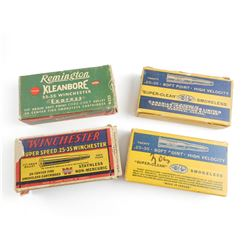 .25-35 WINCHESTER ASSORTED AMMO