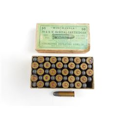 WINCHESTER 38 S&W SPECIAL AMMO