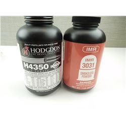 IMR 3031, HODGDON H4350 SMOKELESS POWDER