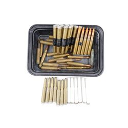 .30-06 BALL AND TRACER AMMO, PLASTIC BLANKS