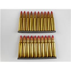 223 TRACER AMMO ON STRIPPER CLIPS